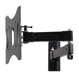 "Full Motion Swivel Wall Mount for Samsung LG Vizio Dynex 24"" 42"" LCD LED TV M18"