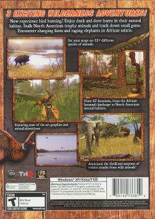 Hunting Unlimited Excursion 3 Pack 3X Big Game Bird Hunter PC Games New 755142733810