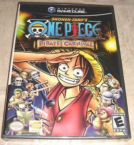 One Piece Pirates Carnival for Nintendo GameCube Brand New Factory SEALED