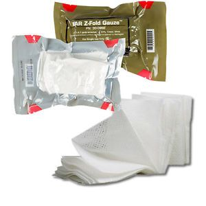 Z Fold Gauze Military Medical Kit Gauze Tactical