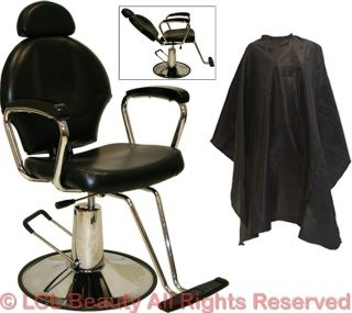 All Purpose Hydraulic Reclining Barber Chair Shampoo Spa Beauty Salon Equipment
