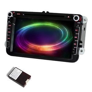 "In Car Radio 8""DVD Player GPS Head Unit Auto Audio for VW Passat Golf 5 6 Tiguan"