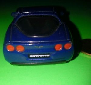 WOW Look Blue Chevrolet Corvette Mattel Matchbox Collect It Kids Toy Race Car