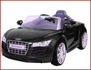 Toy Car Audi R8 6 Volt Ride on Power Wheels Kids Gift Cool Racer Pretend Auto