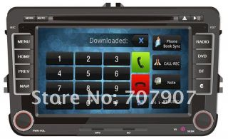 Android Car DVD Volkswagen Skoda Seat Capacitive Screen Car DVD GPS Navi WiFi 3G