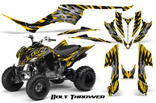 Yamaha Raptor 350 Graphics Kit Creatorx Decals Stickers BTY