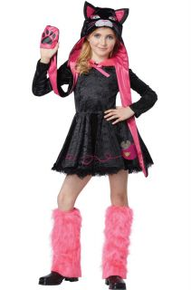 Sassy Kitty Cat Dress Child Halloween Costume