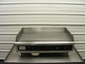 "Star 36"" Electric Commercial Restaurant Griddle Grill Countertop Flat Stove"