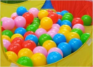 Pcs 2.76 Colorful Fun Soft Plastic Ocean Swim Ball Pit Baby Kid Toy