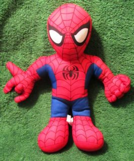 "Spider Man Super Hero Squad 13"" Plush Marvel Kids Good Stuff 2010"