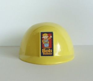 Bob The Builder Yellow Construction Hard Hat Helmet Pretend Play Costume