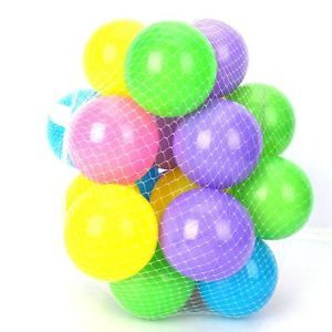 25pcs Colorful Fun Soft Plastic Ocean Ball Baby Kid Toys Tent Swim Pit Toy 2 76""