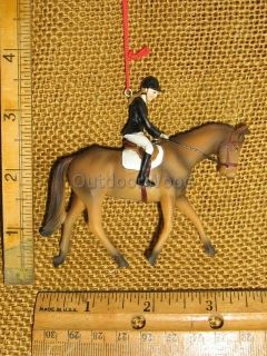 Female Girl English Riding Horse Equestrian Ornament Dressage Eventing Jumping