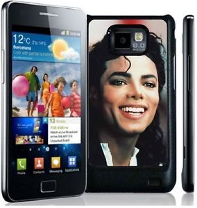 Michael Jackson Hard Phone Cover Case Fits Samsung Galaxy S2 i9100 Mobile