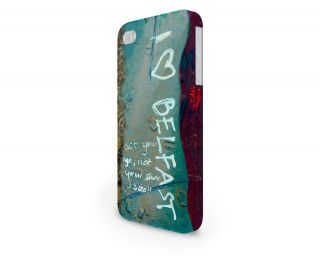 I Heart Belfast Hard Cover Case for iPhone Android 65 Other Phones