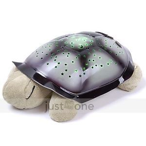 For Kids Baby Sleep Night Lamp LED Light Star Projection Projector Toy Turtle