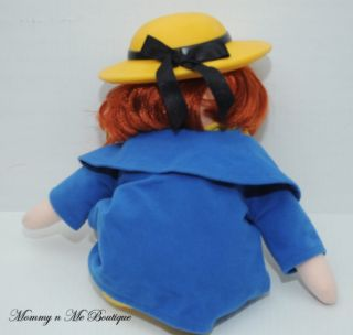 "Madeline Large 16"" Talking Plush Doll Toy Kids Gifts"