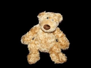 "Gund Pottery Barn Kids Clancy 41334 12"" Plush Teddy Bear Stuffed Toy Lovey"