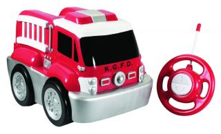 RC Kids Toddler Safe Fun Play Easy Remote Control Toy Jumbo Red Fire Truck