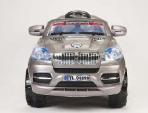 2013 BMW x8 Silver Electric 12V Kids Ride on Car Jeep Truck Toy Remote Control