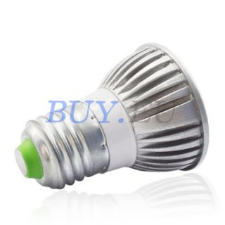 3W E26 E27 Medium Base Remote Control RGB LED Light Bulb 16 Color Changing