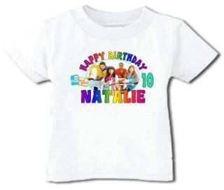 Fresh Beat Band Birthday T Shirt Personalized Any Name Age Toddler to Adult