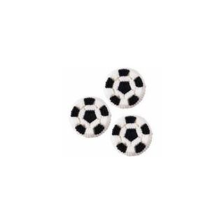 Wilton Soccer Balls Icing Decorations 710 477