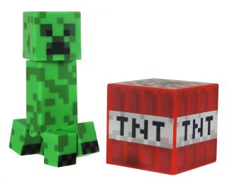 Minecraft Core Creeper Action Figure New Toys Kids Video Game Great Gift