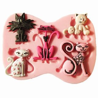 Halloween Christmas Birthday Party Silicone Fondant Cake Mould for Baking