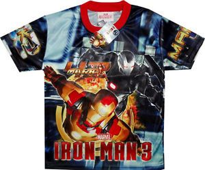 Iron Man 3 Boys T Shirt Childrens Kid Clothes Clothing T Shirts Tees Toys Toy