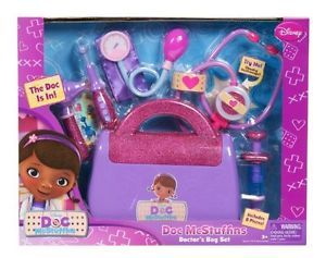 Medical Toy Disney Doc McStuffins Doctor s Bag Kids Gift Children New Fast Shi