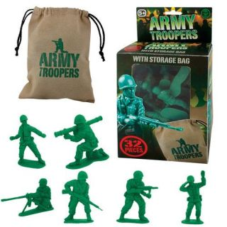 Plastic Toy Army Soldiers