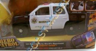 2010 '10 Chevy Tahoe Los Angeles County Sheriff Hero Patrol 1 32 Diecast Jada