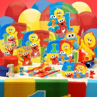 Sesame Street Elmo 1st Birthday Party Supplies You Pick Tablecover Plates Cups