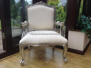 White Salon Chair