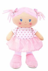 Olivia Baby First Cuddly Doll Soft Plush Toy Safe Age 0 by Kids Preferred New