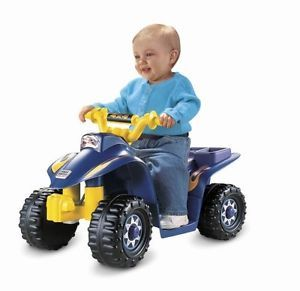 Lil Kids Toddler Power Wheels Ride on Toy ATV Quad 4 Wheeler Battery Powered