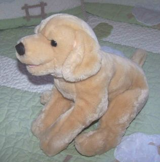Kids Preferred Yellow Plush Stuffed Lab Labrador Puppy Dog Animal Toy 12""
