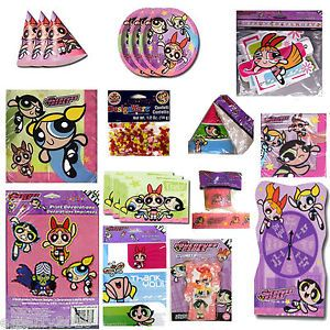 Powerpuff Girls Birthday Party Supplies Create Your Set Pick Only What U Want