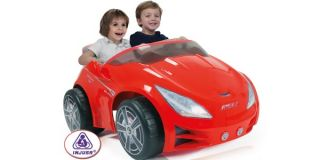 2 Passenger Red Kids Battery Powered Childrens Electric Ride on Sports Car Toy