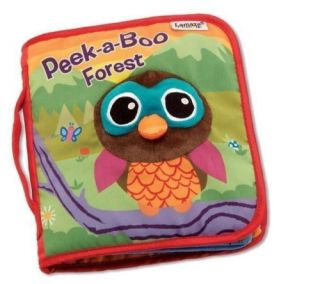 Baby Infant Kids Child Lamaze Crinkle Peek A Boo Forest Cloth Book Develop Toys