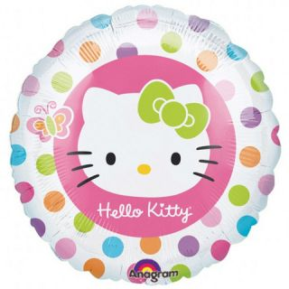 Hello Kitty Childrens Birthday Party Foil Balloon