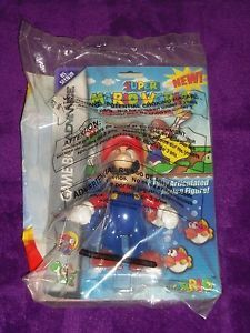 2002 Wendy's Kids Meal Toy Nintendo Game Boy Advance Super Mario World Figure