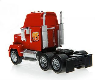 Disney Pixar Cars Movie Mega Size Mack Truck McQueen Diecast Toy Vehicle Loose