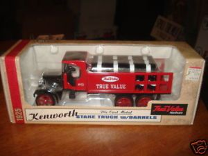1925 Vintage Stake Truck True Value Bank Collectible Toy Kids Xmas Gift