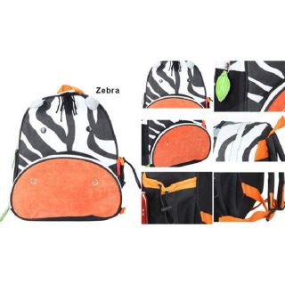 Kids Boys Girl's Cartoon Backpack Zoo Animal Shoulder Bag Book School Bags