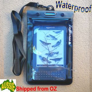 Kindle Waterproof Case 3 4 4th 5th Touch Fire iPad Mini Sony Kobo eReader Cover