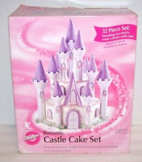 Wilton Romantic Castle Cake Set 32 Pieces 301 910