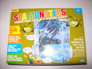 New Sea Monsters Kit Hatch and Watch Grow Beach Boy Girl Kids Toy Science