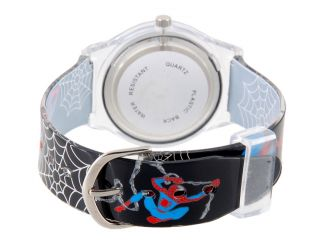 Cool Spiderman Pattern Digital Wrist Watch for Kids Boys Gift Black